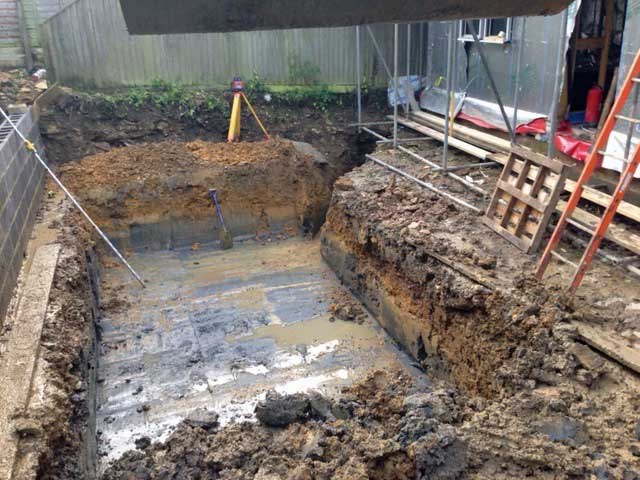 Pond installation service by Oxfordshire Groundworks